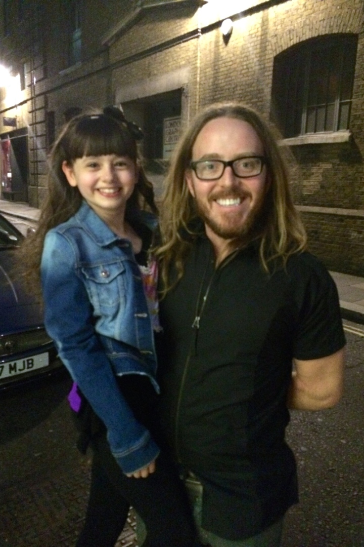 Jaime with Tim Minchin