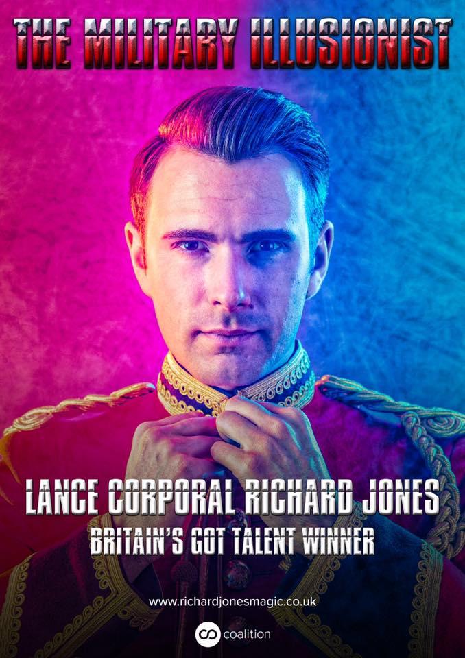 richard jones magic show