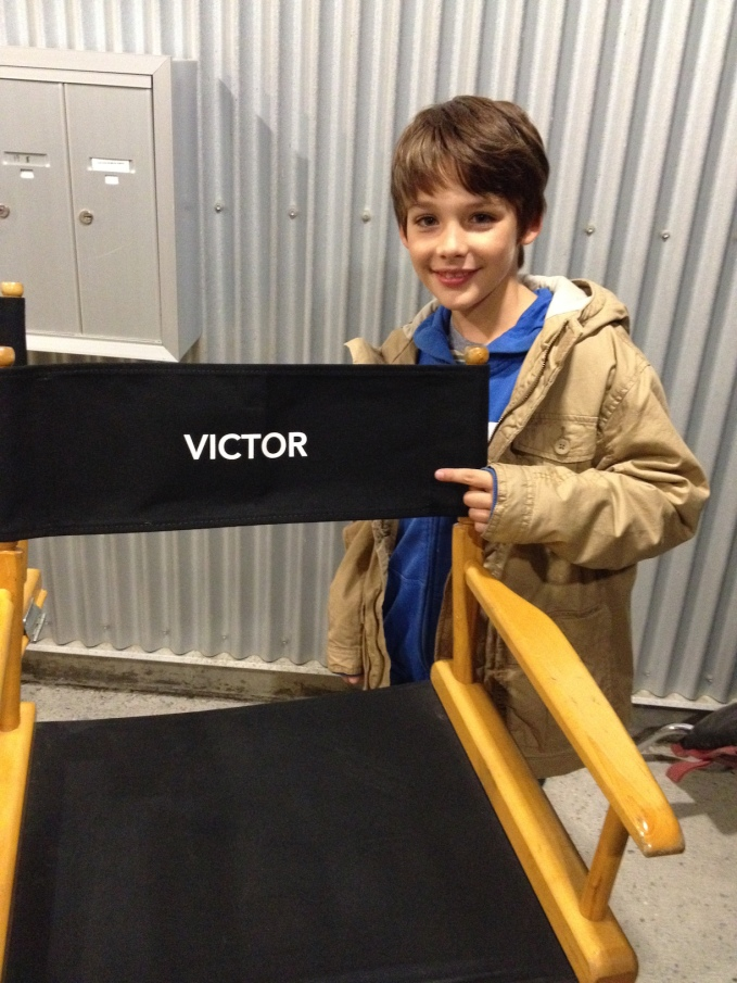 Dylan on Set of The Returned (Dylan Kingwell)
