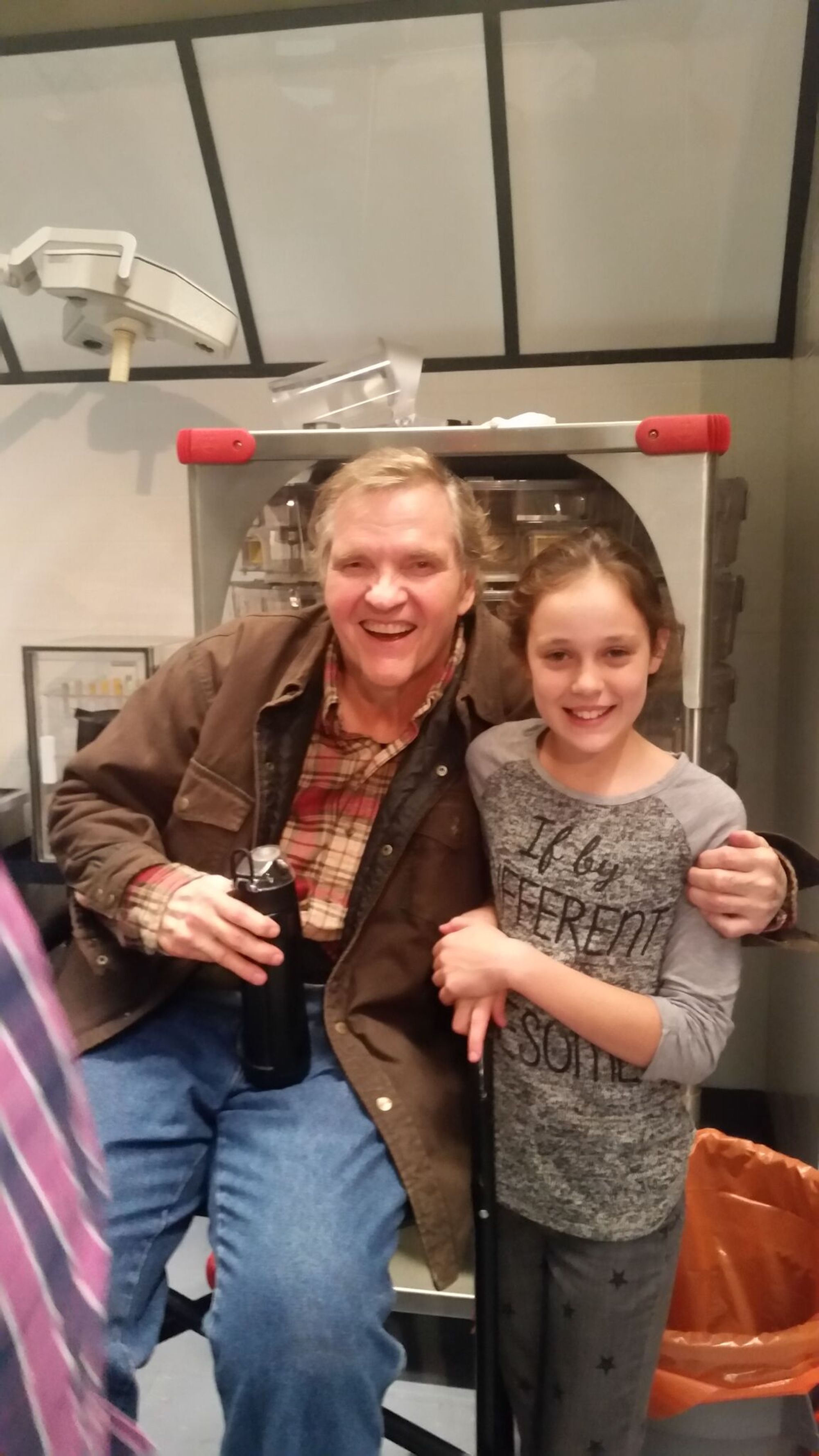 Sarah Giles on Set With Meatloaf