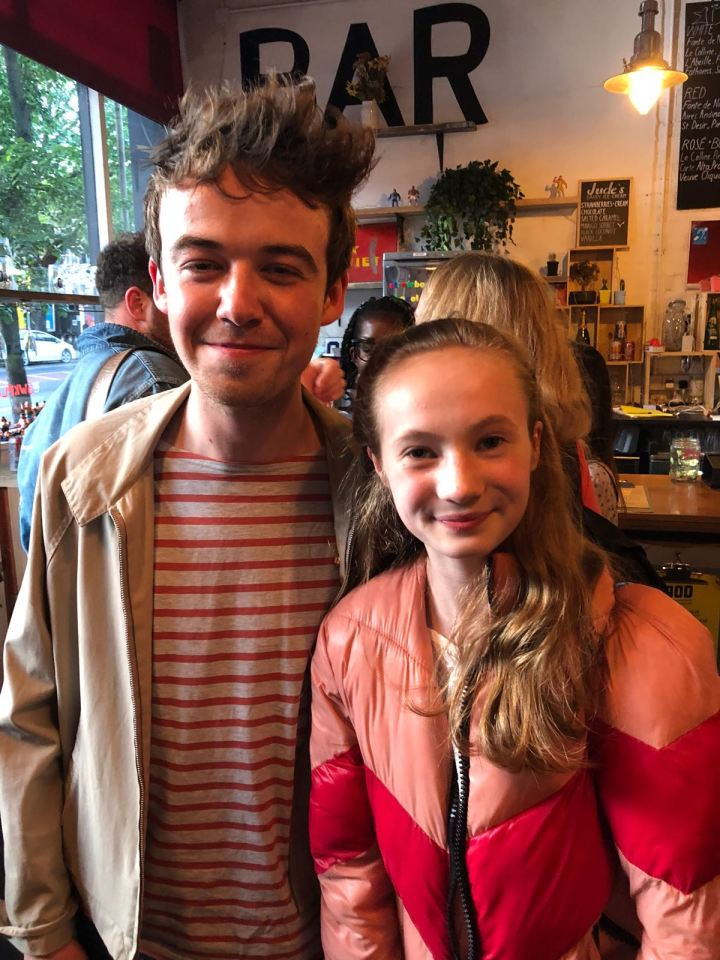 Violet and Alex Lawther