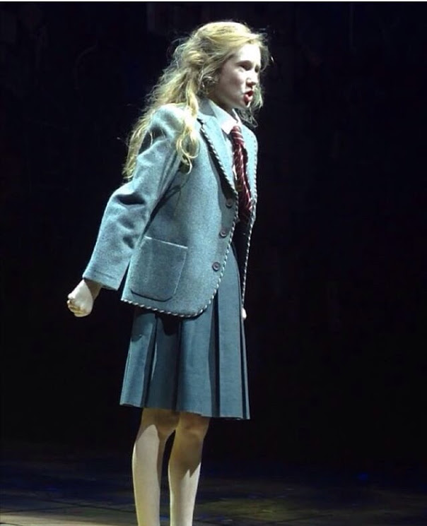 Violet as Matilda last show