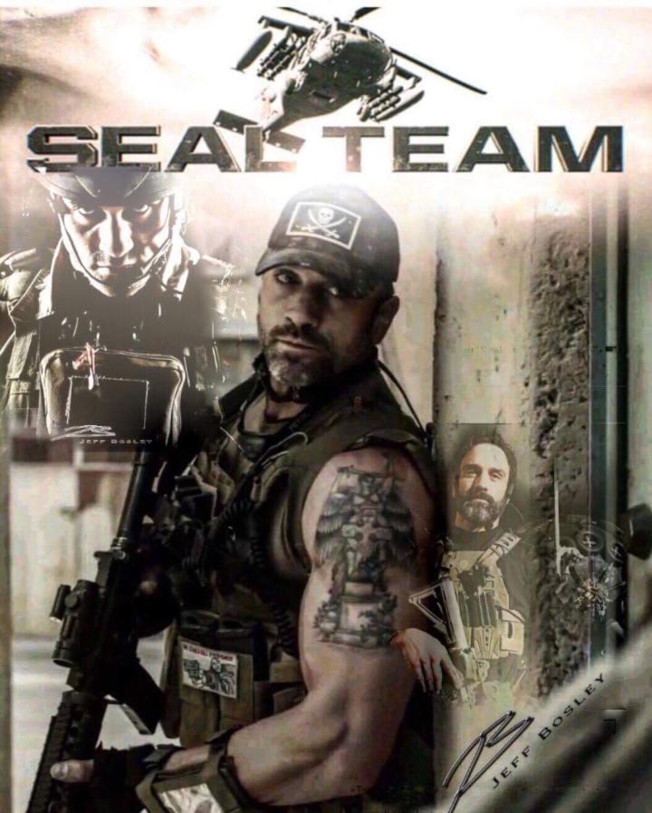 Jeff Bosley SEAL Team
