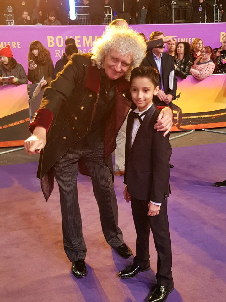 Adam with Brian May