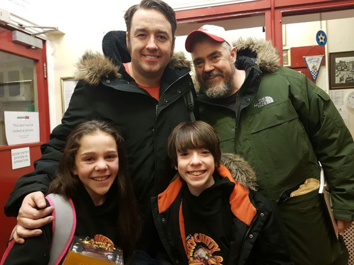 Jason Manford Phil Jupitus Emma-Jane Shorrock Finn Richards - Chitty Bang Bang