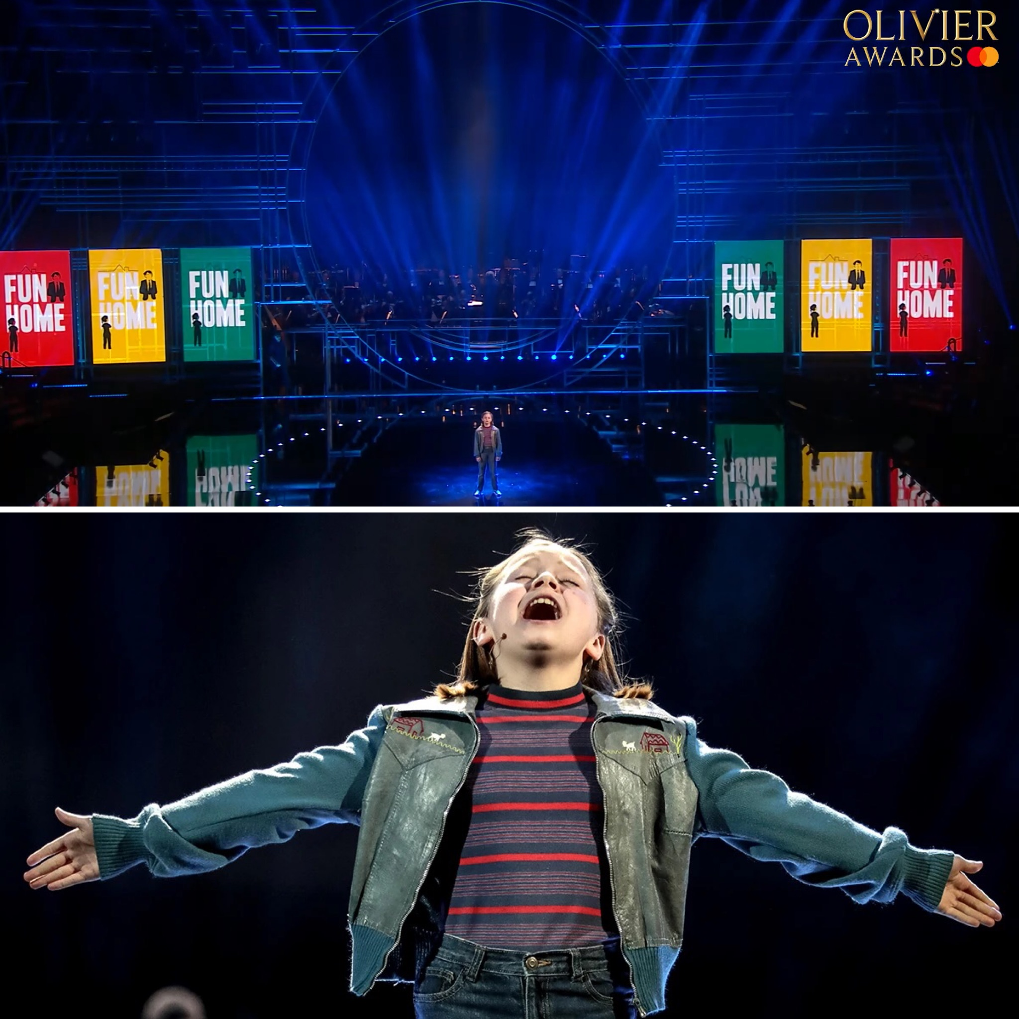 Fun Home_The Olivier Awards performance