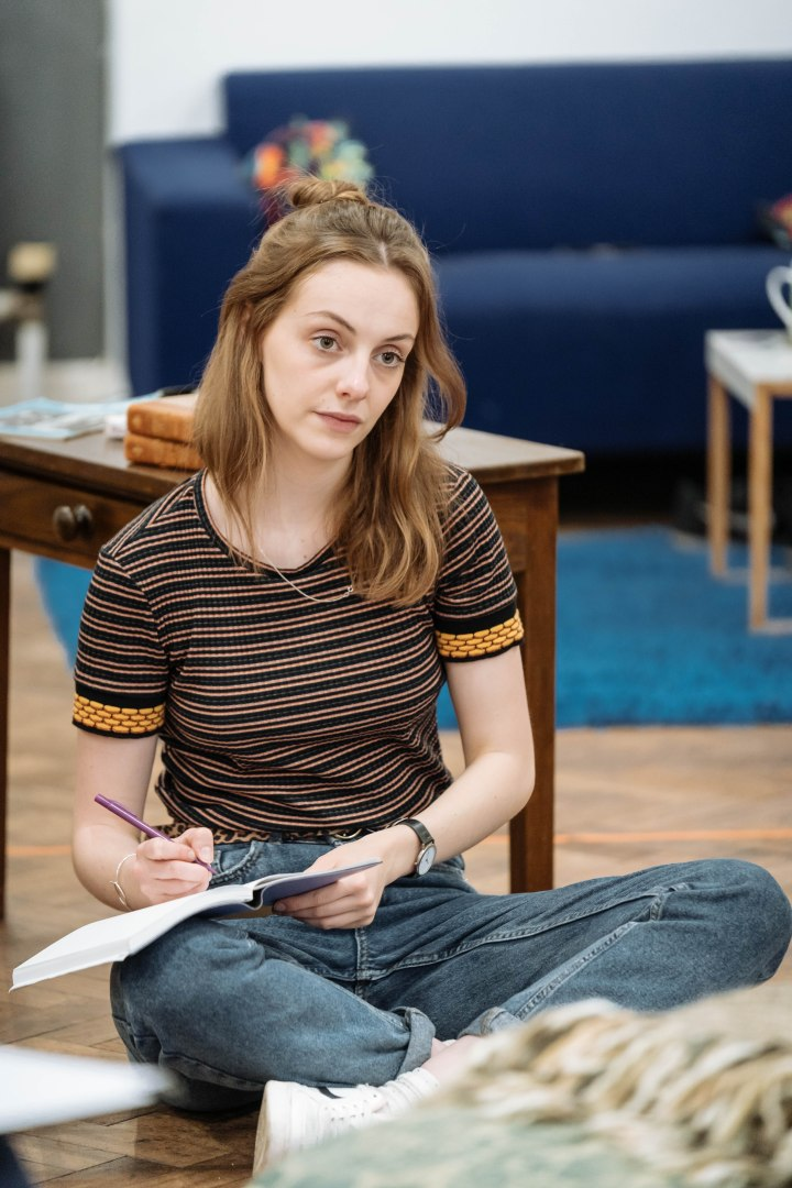 Helena Wilson in rehearsal for The Deep Blue Sea at Chichester Festival Theatre Photo Manuel Harlan-021