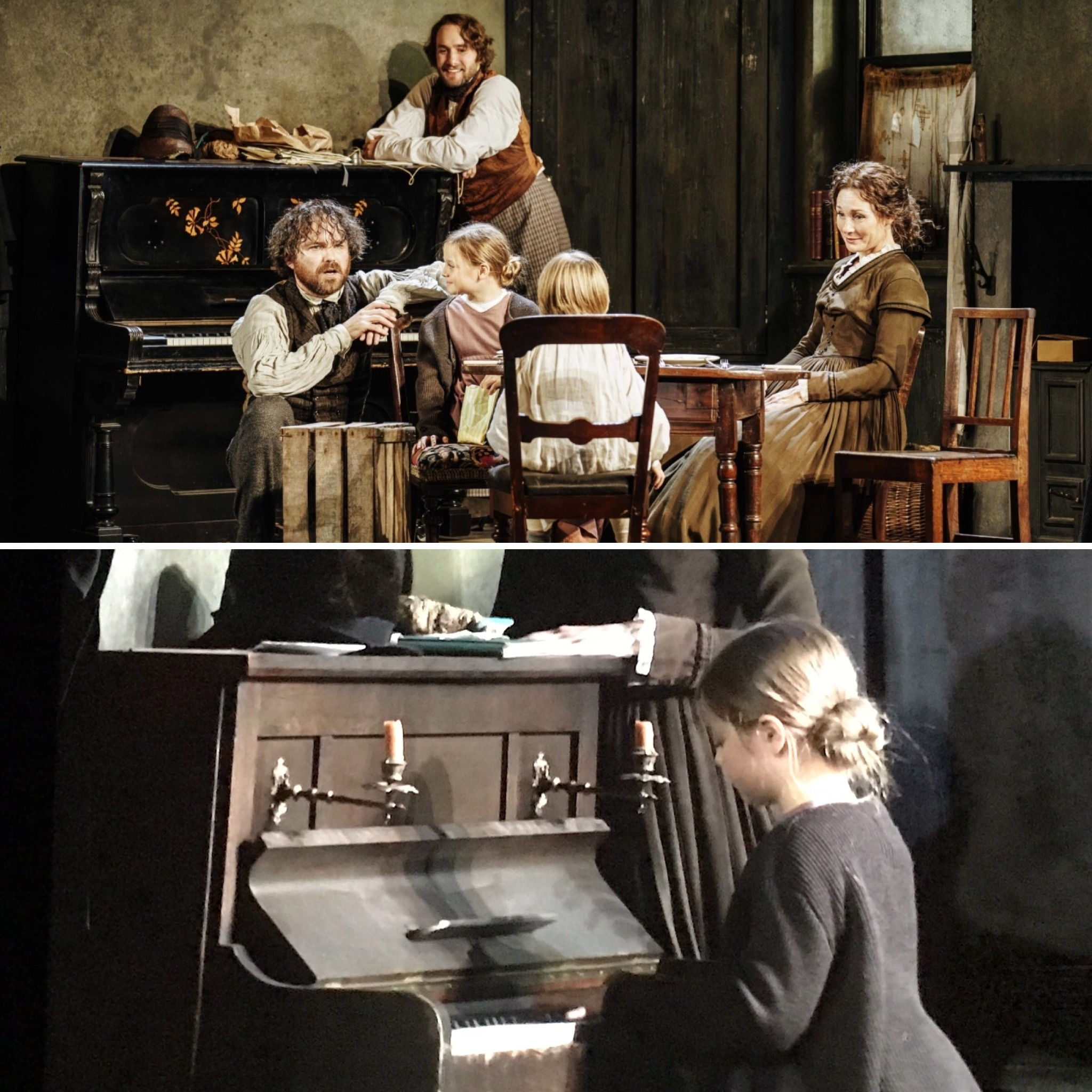 Young Marx_Bridge Theatre_London