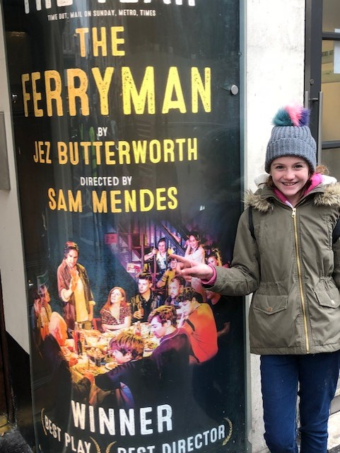 Darcy with Ferryman poster