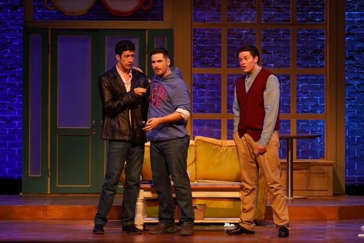 Friendsical - Production Images - Jamie Lee-Morgan, Jordan Fox, Thomas Mitchells - Photo By Dale Wightman GEM-00338