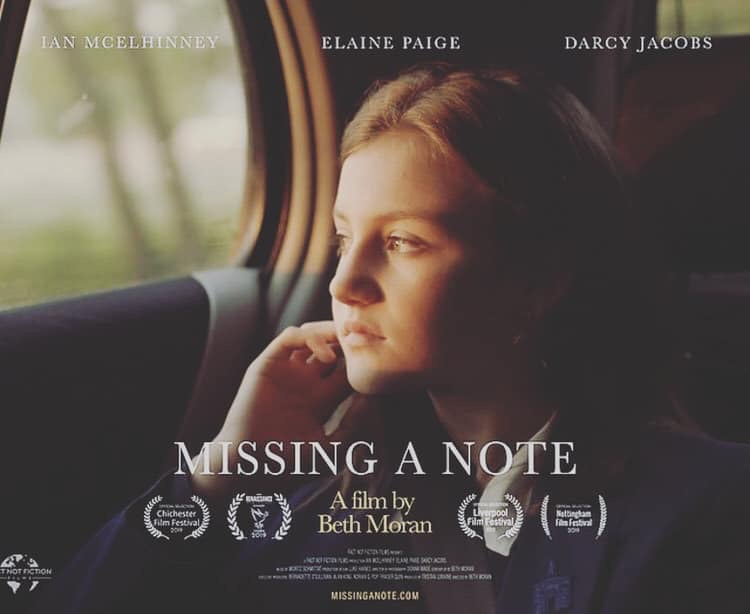 Missing a note poster