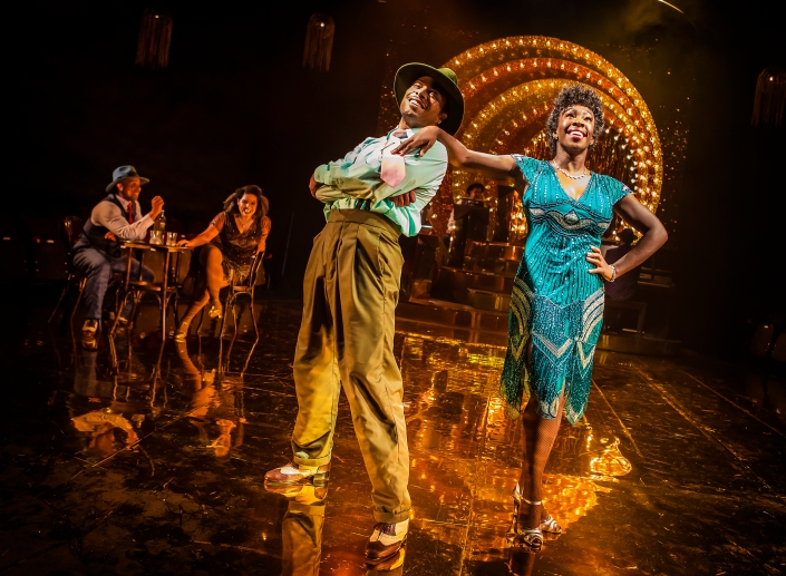 Adrian Hansel, Renée Lamb, Wayne Robinson & Carly Mercedes Dyer - Ain't Misbehavin' - Photo by Pamela Raith