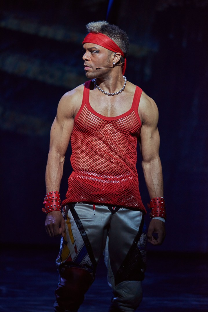Wayne Robinson as Jagwire in BAT OUT OF HELL THE MUSICAL. Photo Credit - Specular (1)