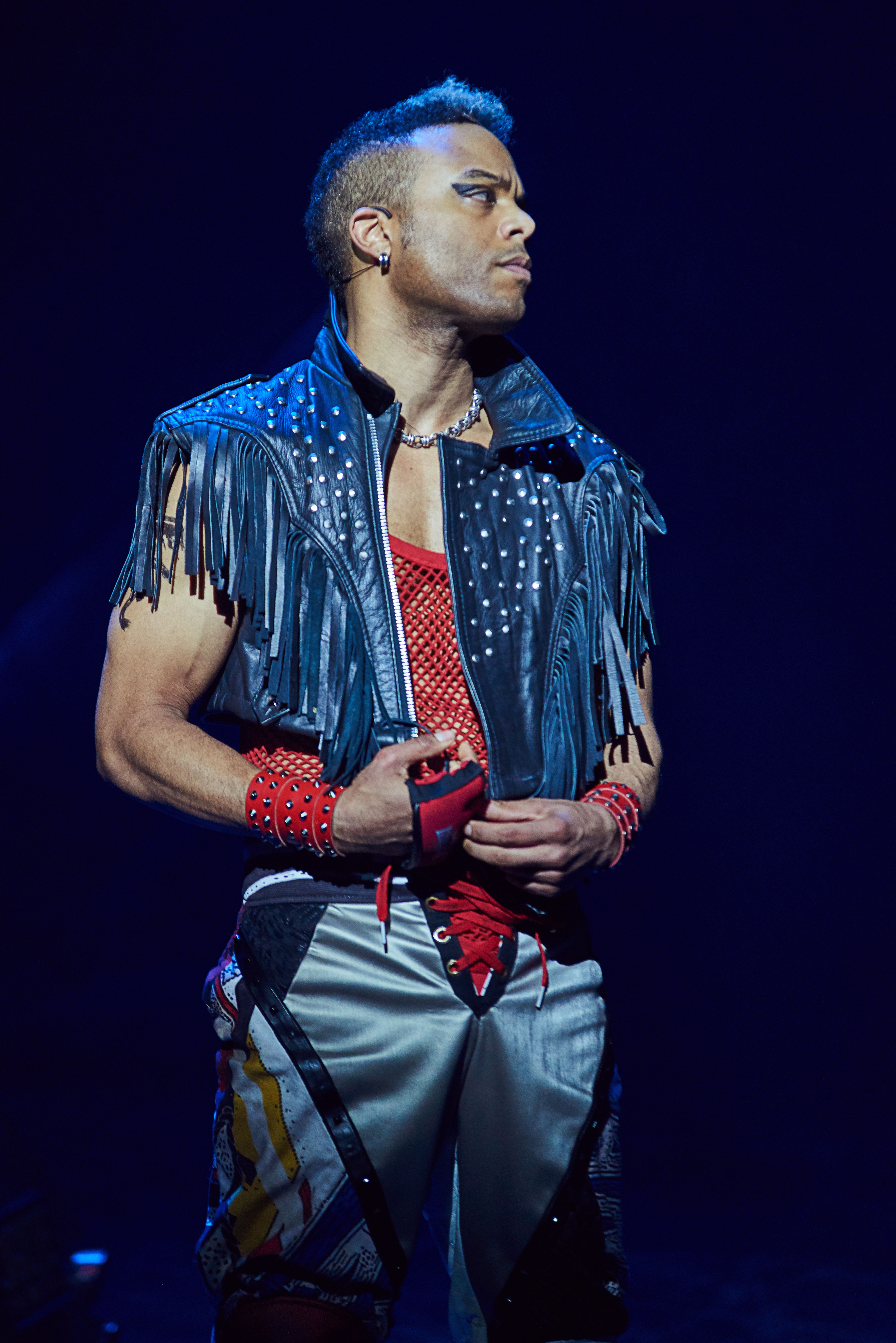 Wayne Robinson as Jagwire in BAT OUT OF HELL THE MUSICAL. Photo Credit - Specular (2)