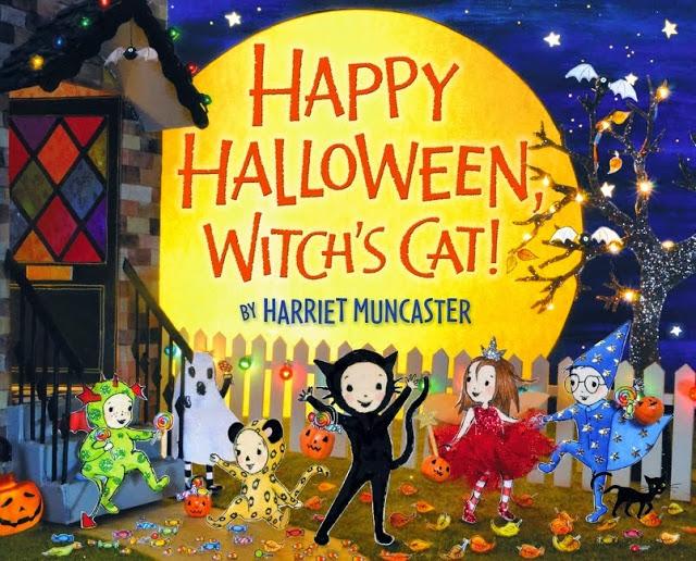 Happy Halloween Witch's Cat