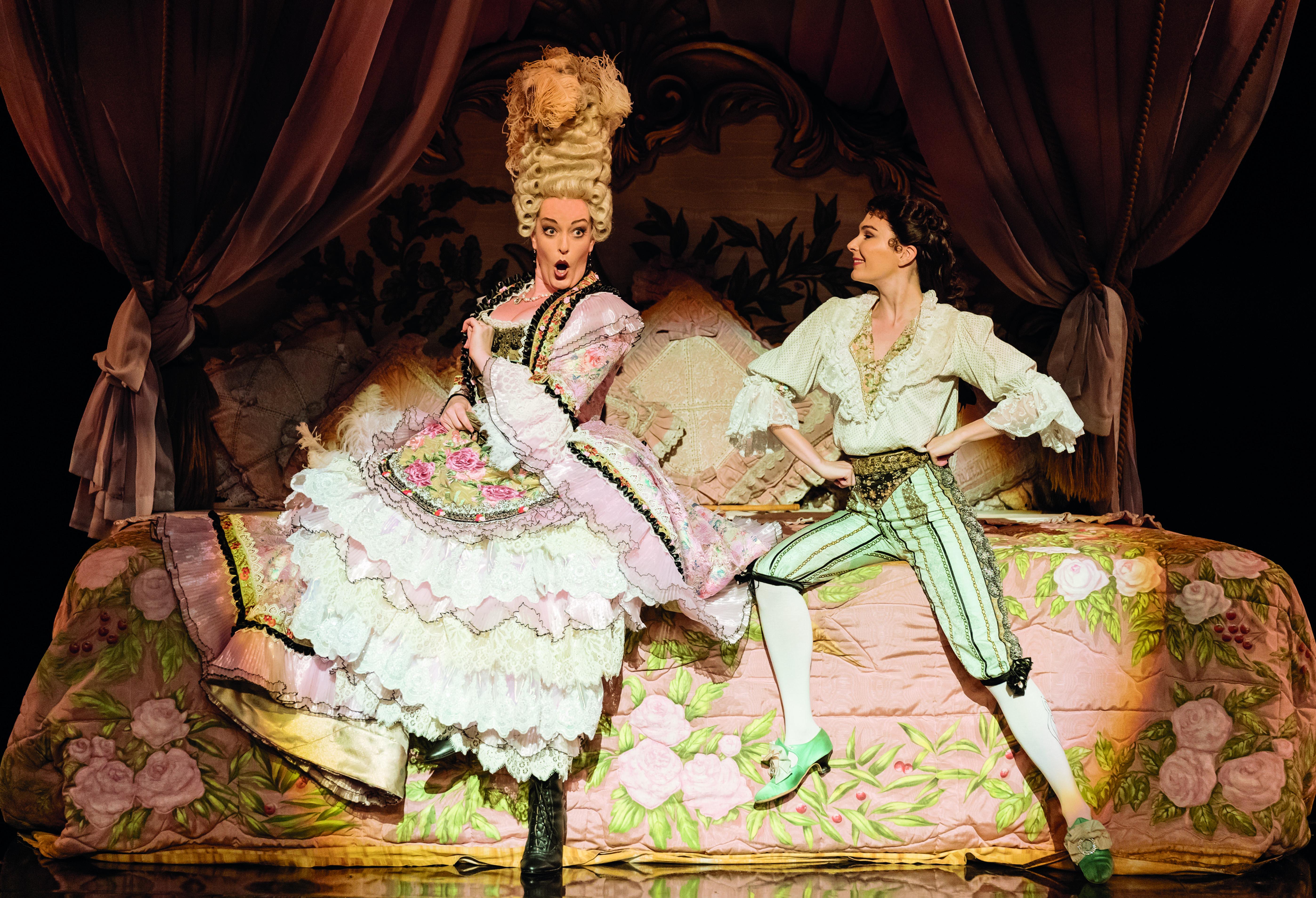 3. The Phantom of the Opera. Britt Lenting 'Carlotta'. Photo Manuel Harlan