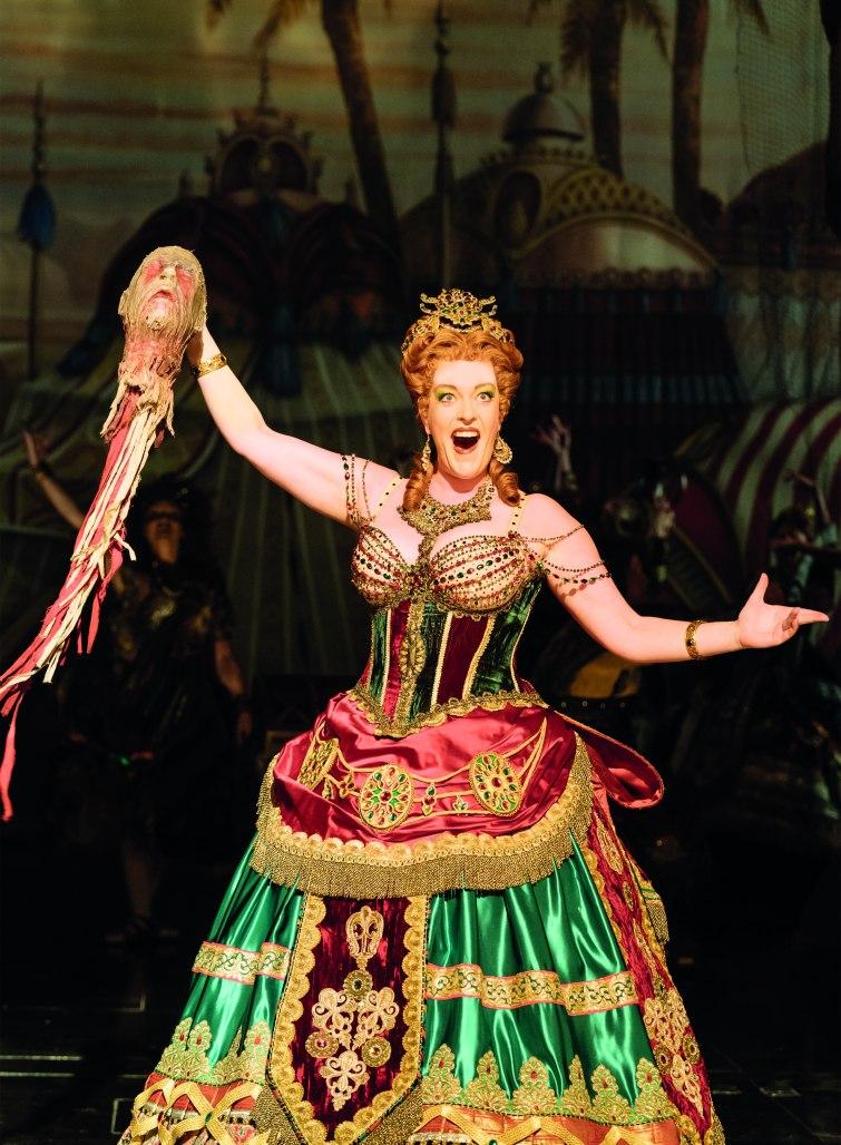 4. The Phantom of the Opera. Britt Lenting 'Carlotta'. Photo Manuel Harlan