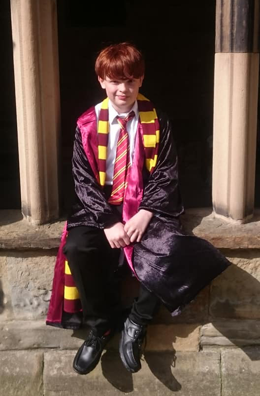 As Ron Weasley for World Cup Cricket