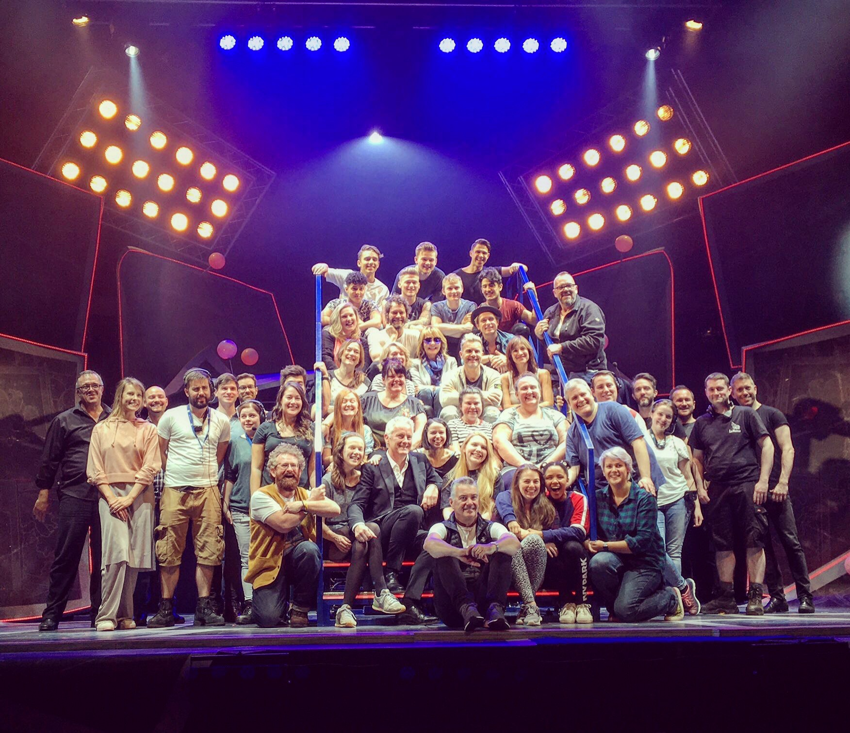 The Band Company Photo Opening Night 26th September 2017 Opera House Manchester