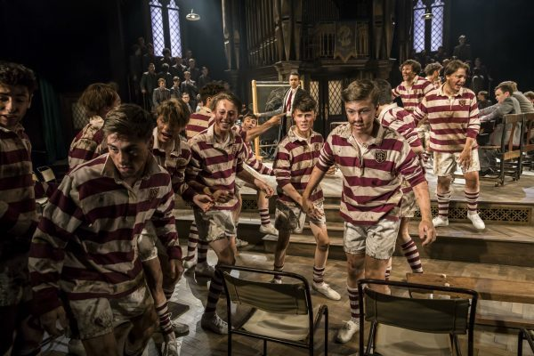 9.2-The-community-ensemble-as-the-Rugby-Team-in-Chichester-Festival-Theatres-production-of-FORTY-YEARS-ON.-Photo-by-Johan-Persso-e1493285920629